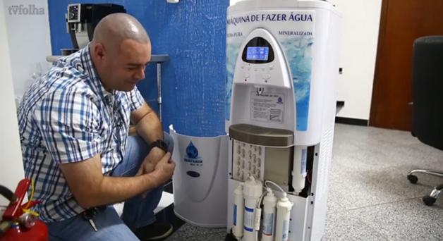 Engenheiro cria máquina capaz de produzir água a partir do ar