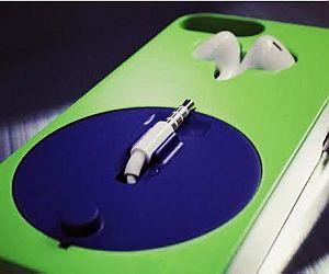 Case para iPhone guarda fone de ouvido sem embaraçar os fios