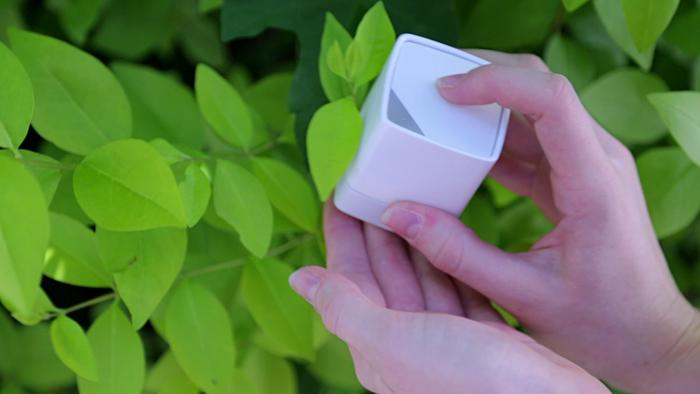 Cubo Mágico copia cores da vida real