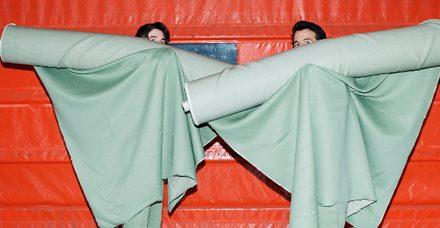 Grife suíça cria roupa biodegradável