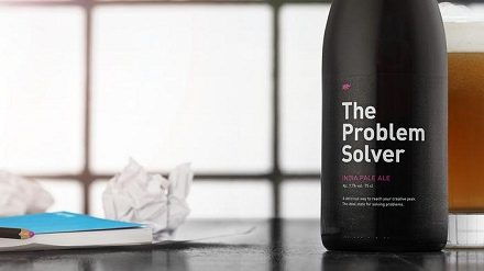 Conheça a cerveja que promete resolver seus problemas