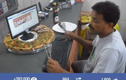 Pizzaria Batepapo e a campanha de marketing mais barata da história