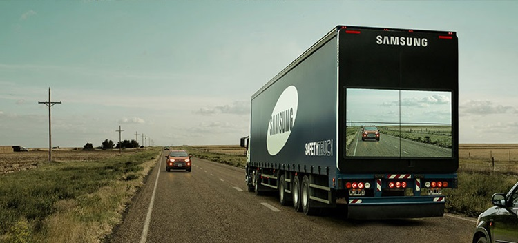Samsung cria tecnologia para ajudar veículos em ultrapassagens na estrada