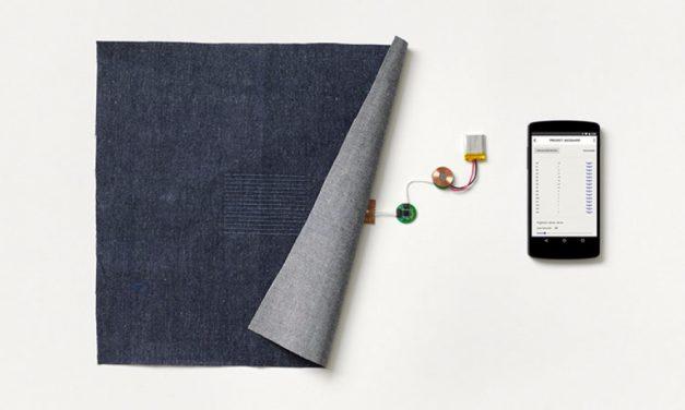 Google anuncia projeto de roupa inteligente