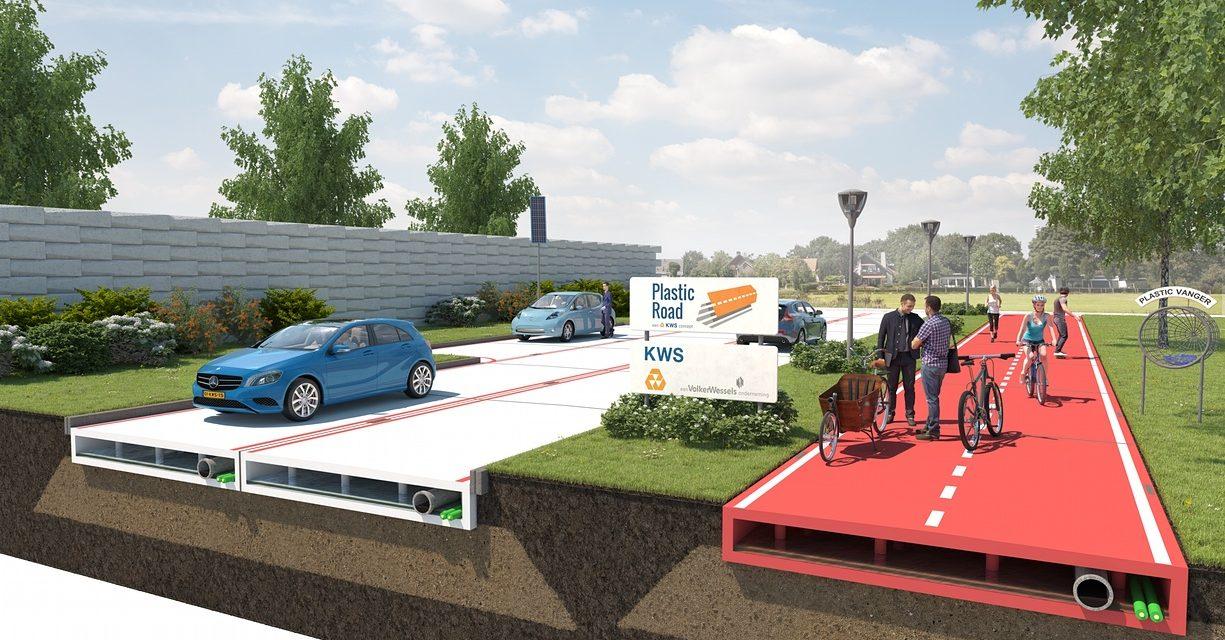 Projeto PlasticRoad visa a pavimentação de estradas com plástico reciclável