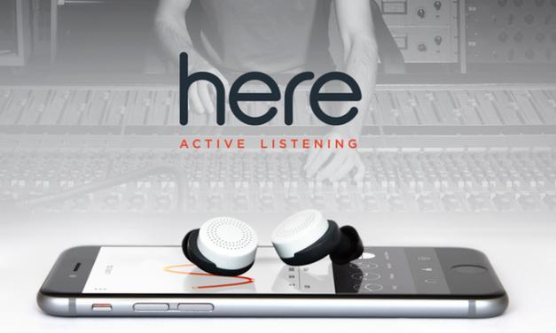 Gadget permite que usuário controle os sons que entram em seus ouvidos