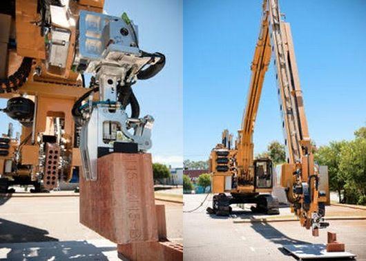 Conheça o Hadrian: o robô que consegue construir casas 20 vezes mais rápido que nós
