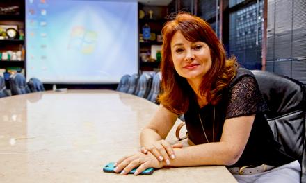 Silvania Dal Bosco passou de repórter a empresária de Comunicação