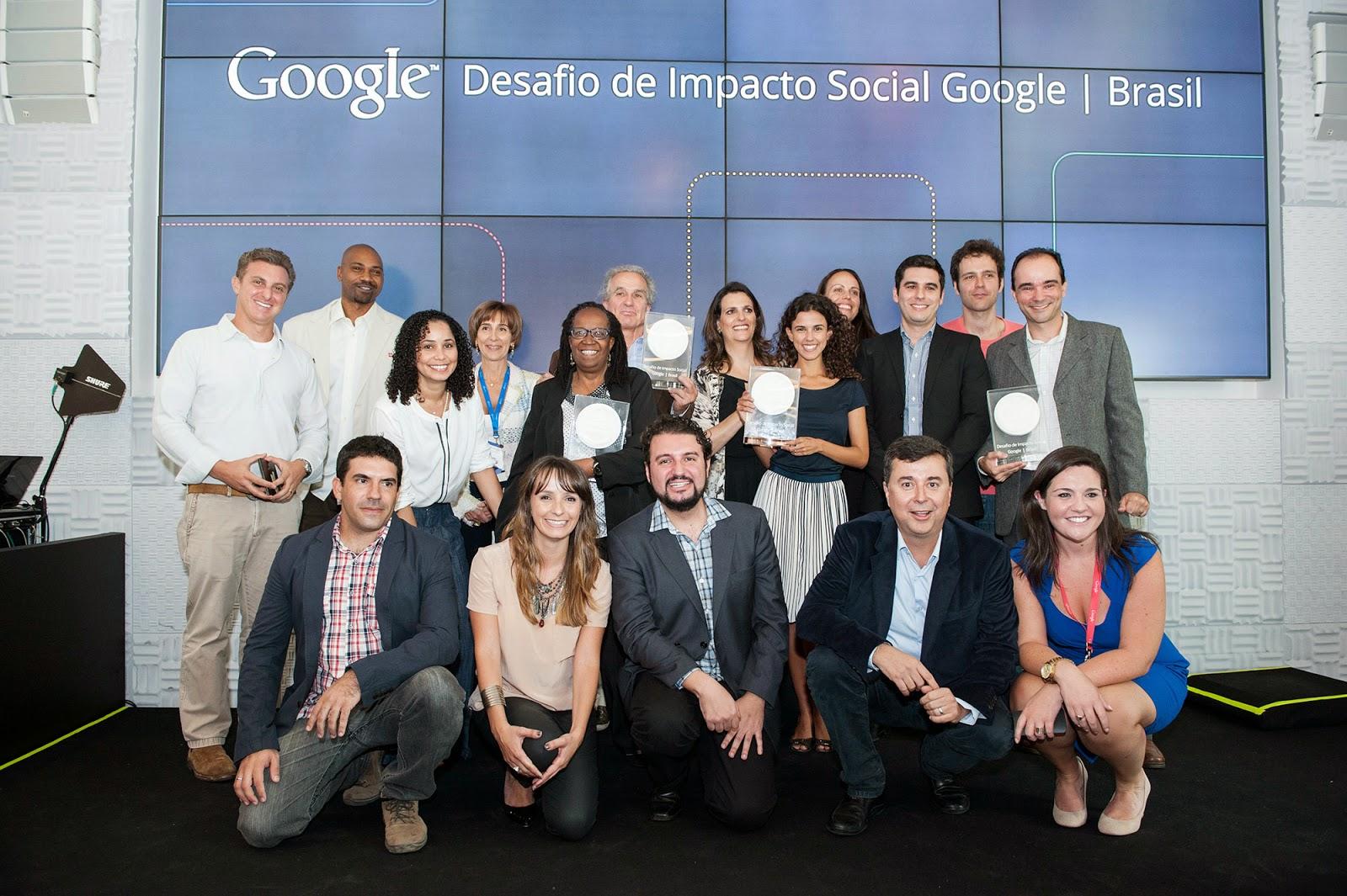 Crédito: Studio Rebizzi. Vencedores da primeira edição do Desafio de Impacto Social – Blog Google Brasil.