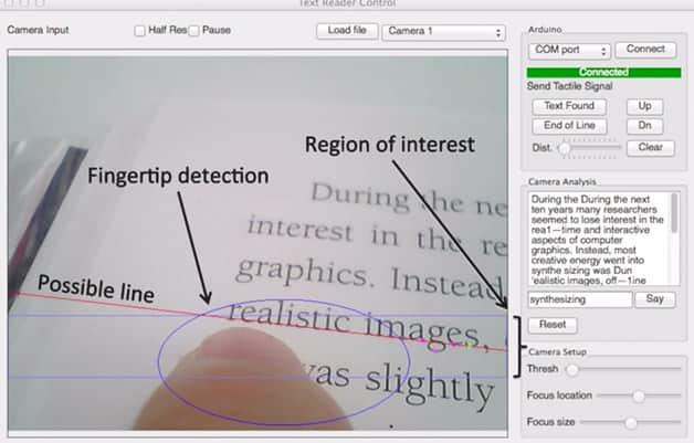 Pesquisadores do MIT desenvolvem anel que possibilita deficientes visuais a lerem livros comuns