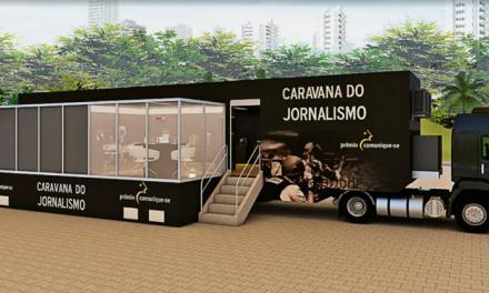 Caravana do Jornalismo busca inspirar futuras gerações do jornalismo ao redor do Brasil