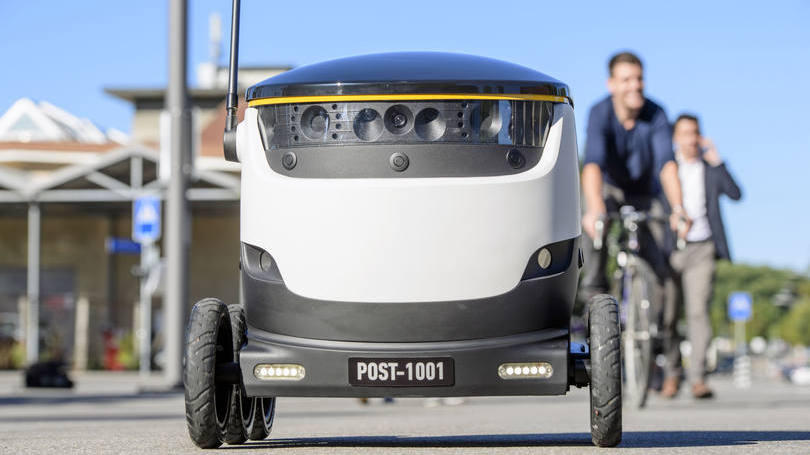 Correio Suíço realizará testes com robôs-carteiros
