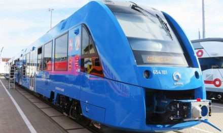 Empresa francesa lança trem com emissão zero que é movido a hidrogênio