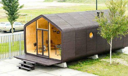 Empresa holandesa cria casa sustentável feita de papelão