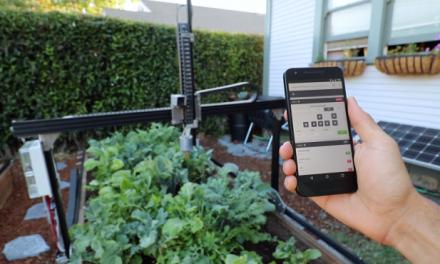 Robô criado por empresa americana pode cultivar sozinho uma horta em seu quintal