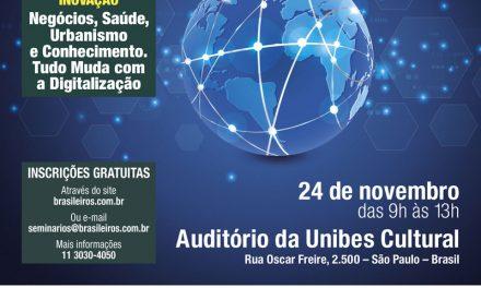 Revista Brasileiros promove seminário sobre inovação