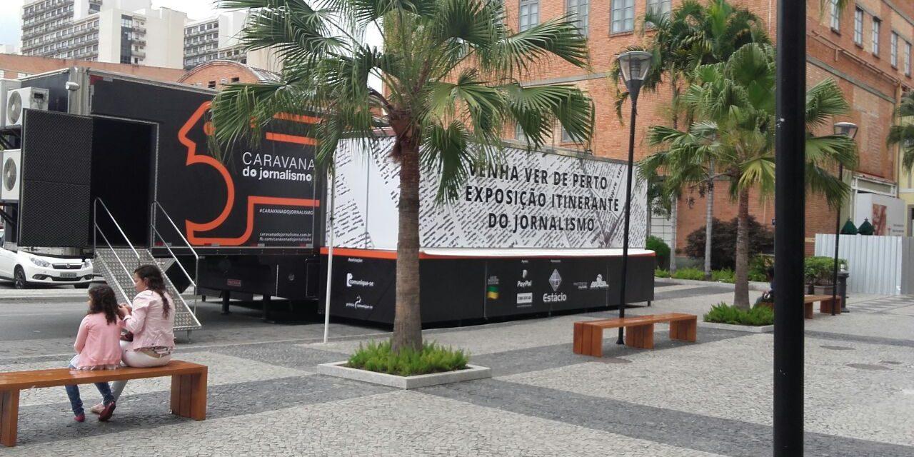 Caravana do Jornalismo desembarca no Rio de Janeiro