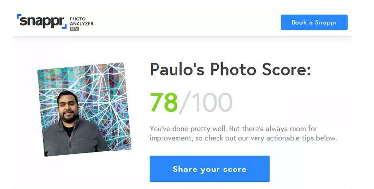 Site aponta se foto de perfil do Linkedin é apropriada