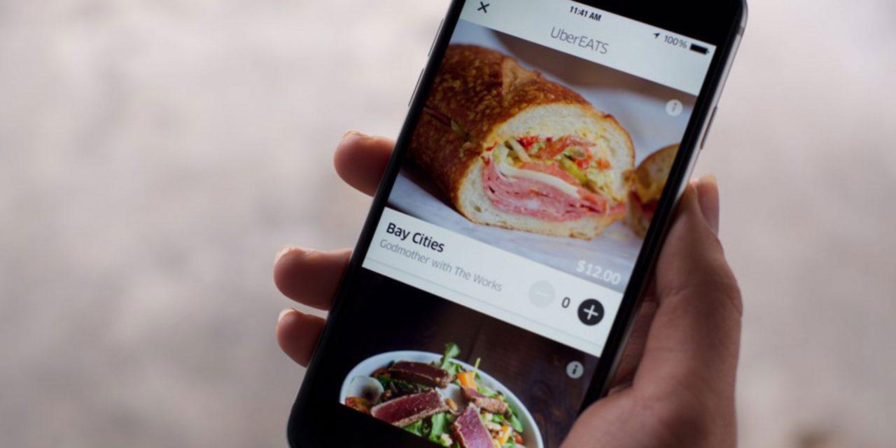 Uber lança aplicativo de delivery