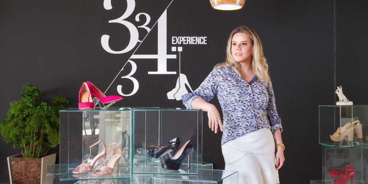 33e34 Experience: grande sucesso por pequenos pés
