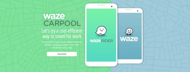 Serviço de carona do Waze chegará ao Brasil