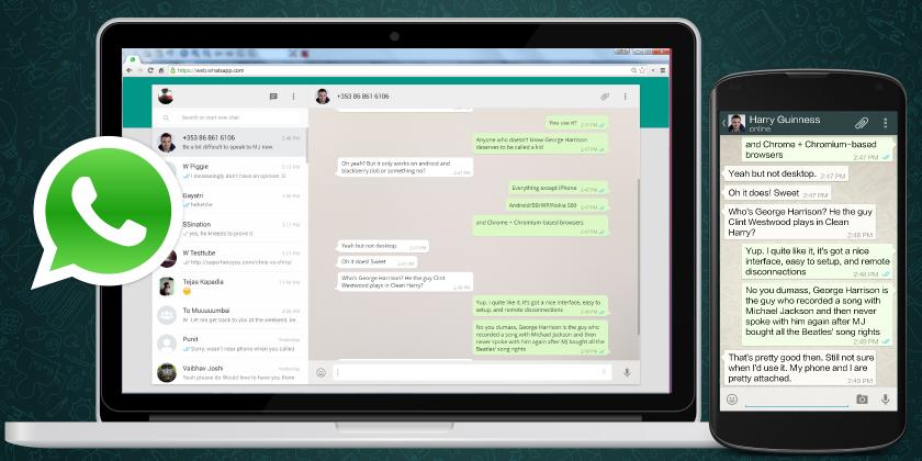 WhatsApp Web permitirá que mensagem enviada seja apagada