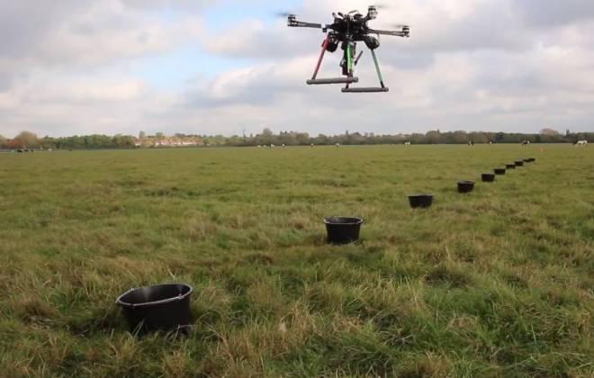Parceria aposta em drones para projeto de revitalização