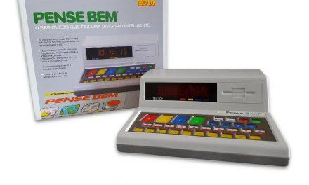 Sucesso dos anos 80, o brinquedo Pense Bem voltará às lojas