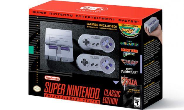 Super Nintendo também será vendido no Brasil