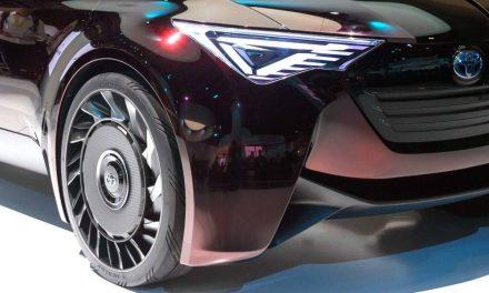 Toyota Motor estuda pneu sem ar para deixar carro mais leve