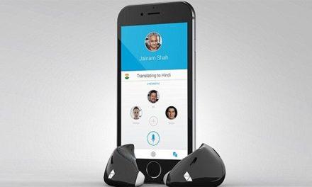 Fone de ouvido inteligente promete tradução em tempo real