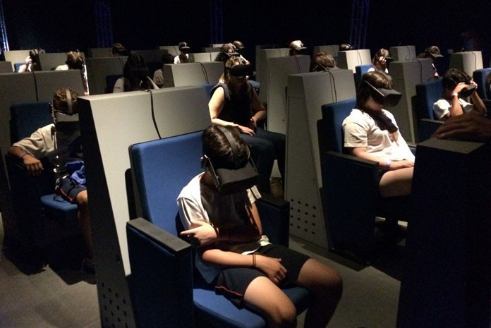 Passado e futuro se encontram na sala Dinos do Brasil