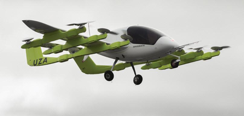 Cofundador do Google planeja entrar no mercado dos carros voadores