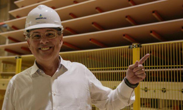 Técnica para construir a fábrica GreenPlac  foi inovadora,  diz José Roberto Colnaghi, da Asperbras