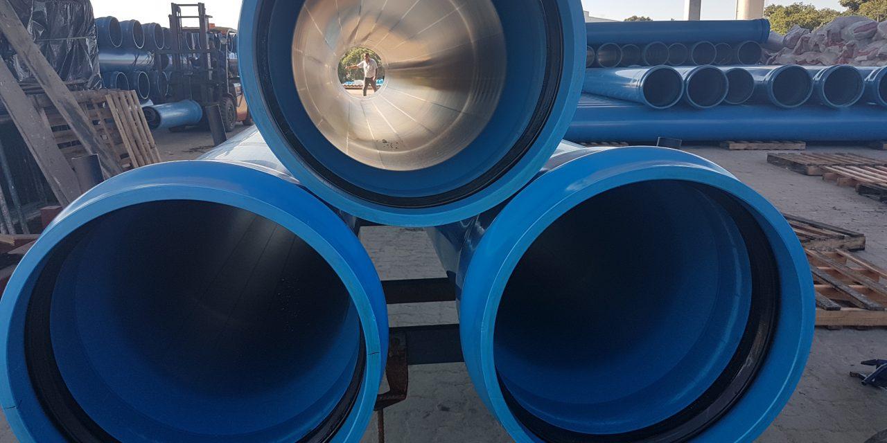 Novo tubo de 500 milímetros completa a linha Defofo da Asperbras