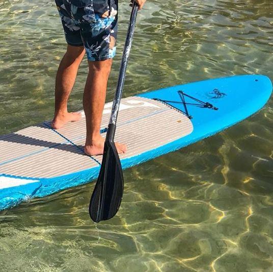 Supsurf: a prancha de stand up paddle fabricada em polietileno quer seduzir os iniciantes no esporte