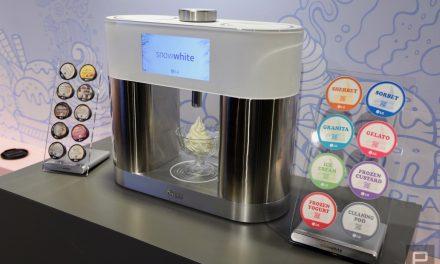 Vem aí a máquina de fazer sorvete em cápsula