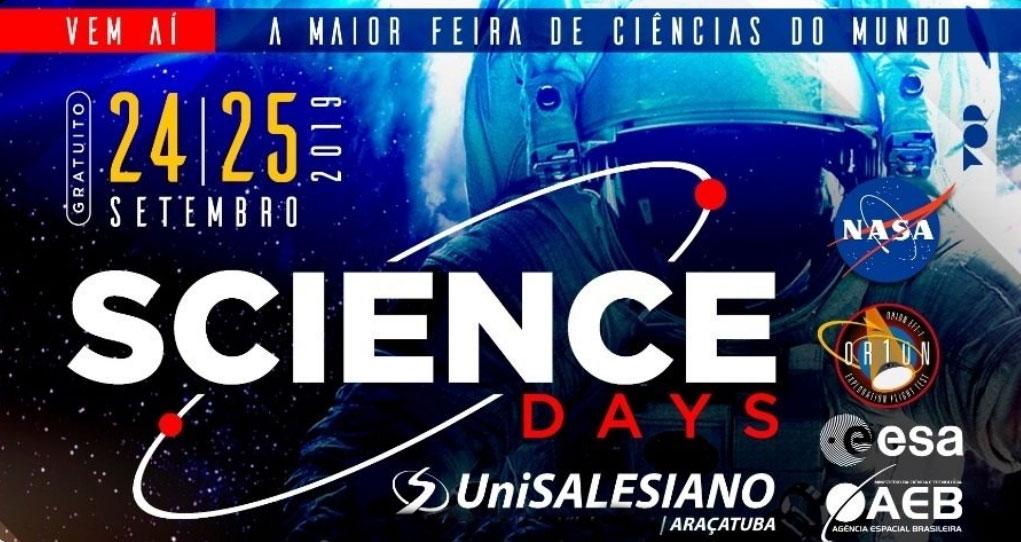 Grupo Asperbras participa da Science Days