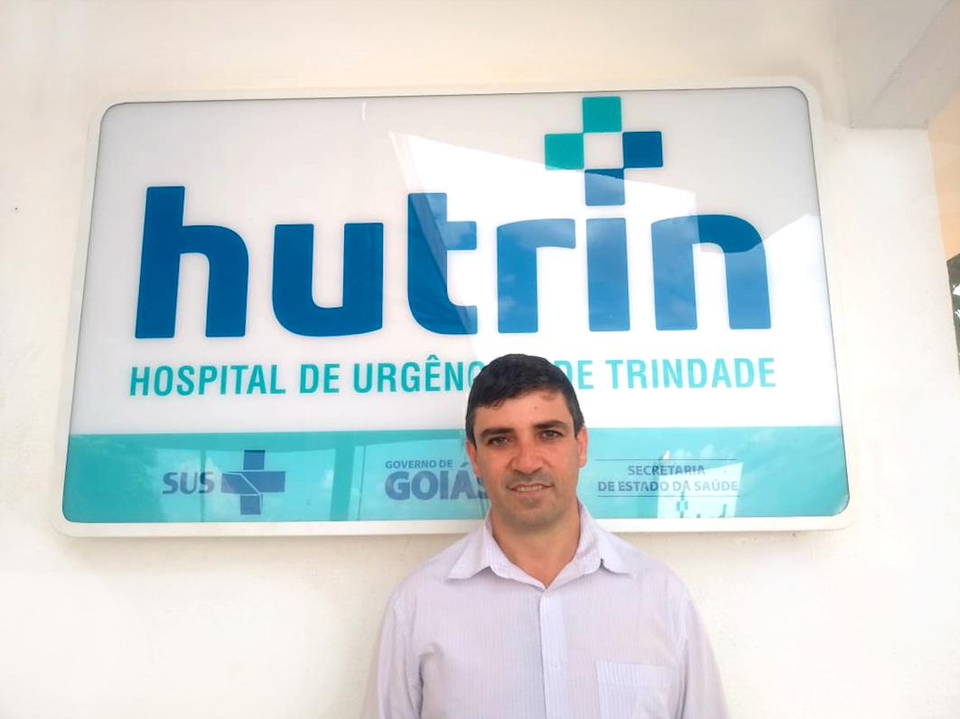 Na foto, Getro de Oliveira Pádua, diretor do hospital Hutrin Trindade.